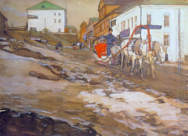 The Red Sled The Troitse Sergiyev Tenements 1903