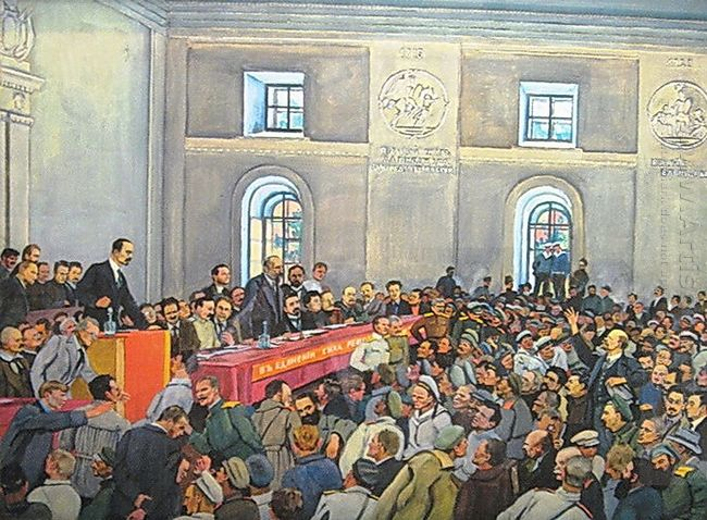 There Is Such A Party Lenin On The 1 St All Russian Congress Of