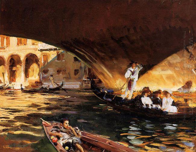 The Rialto Venice 1909