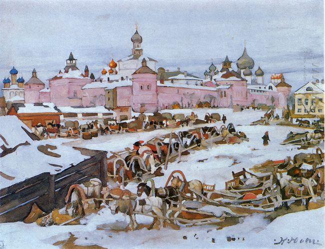 The Rostov Kremlin 1916