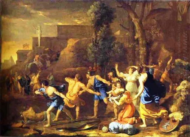 The Saving Of The Infant Pyrrhus 1634