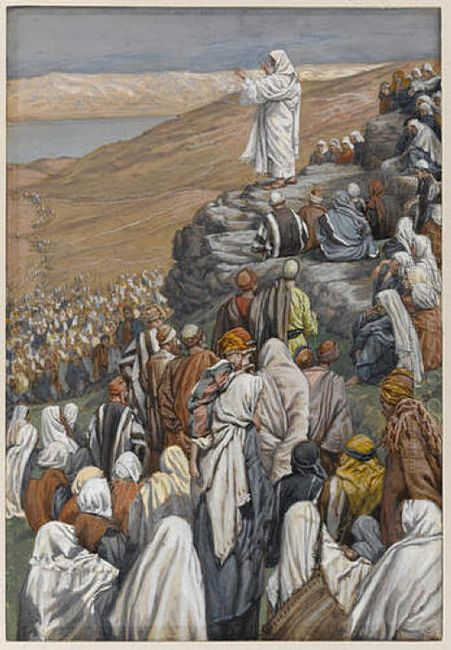 The Sermon On The Mount Illustration For The Life Of Christ