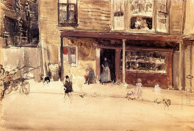 The Shop An Exterior