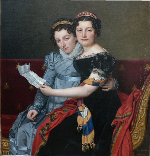 The Sisters Zenaide And Charlotte Bonaparte 1821