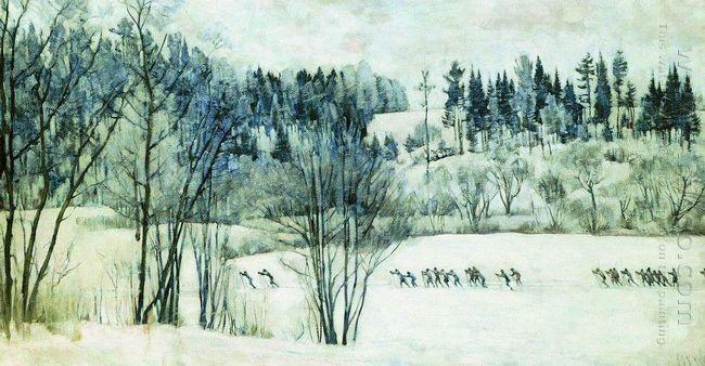 The Ski Excursion 1930