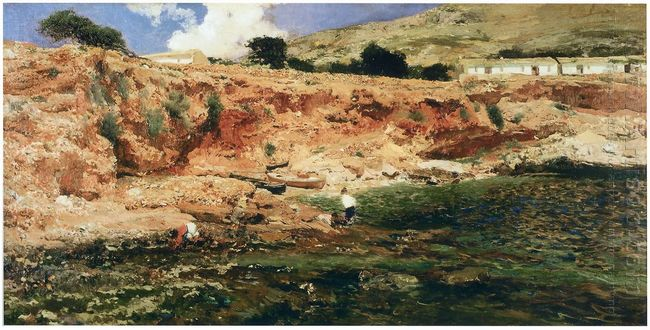 The Small Cove Javea 1898