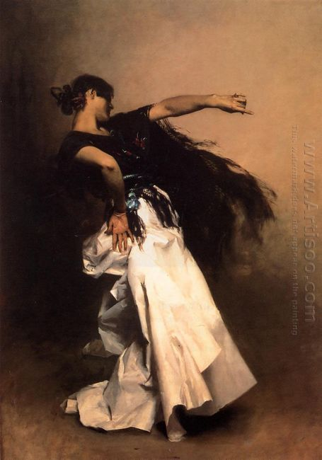 The Spanish Dancer Study For El Jaleo 1882