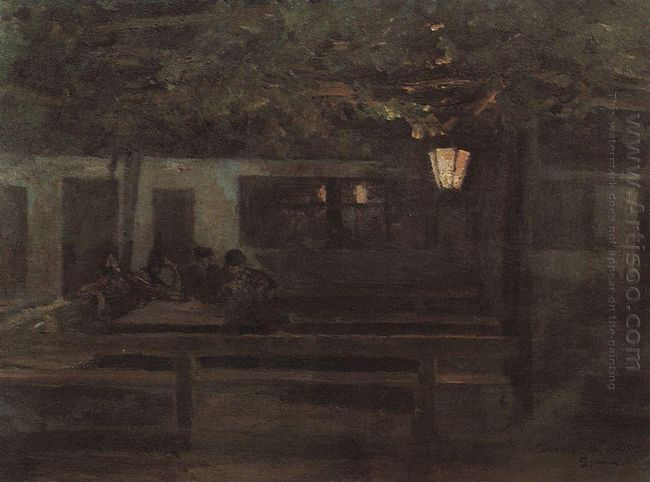 The Spanish Tavern 1888
