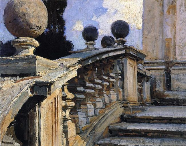The Steps Of The Church Of S S Domenico E Siste In Rome 1906