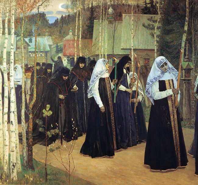The Taking Of The Veil 1898
