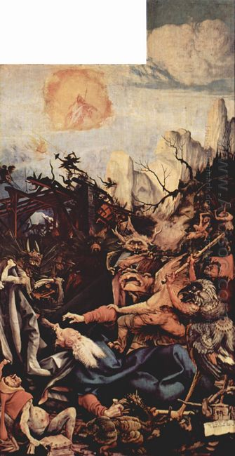 The Temptation Of St Anthony Right Wing Of The Isenheim Altar 15