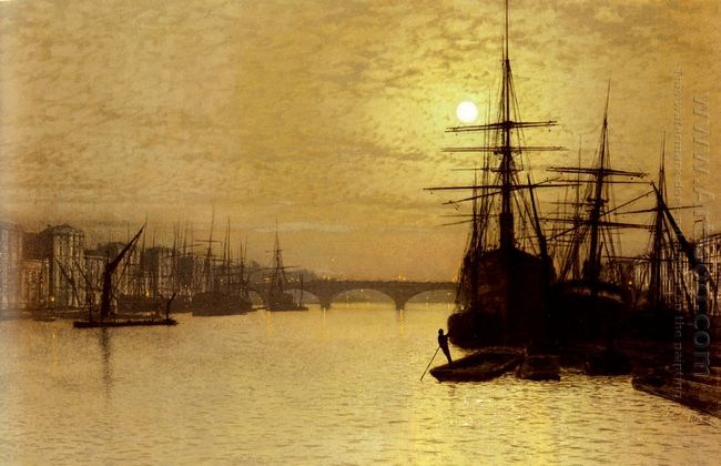The Thames Below London Bridge