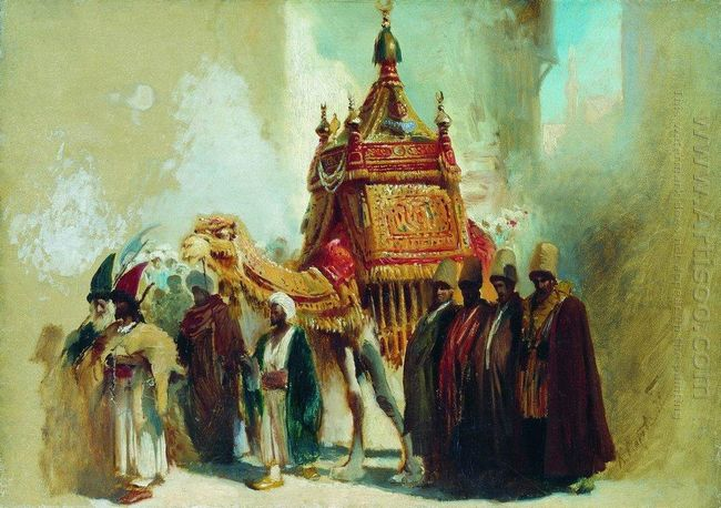 The Transfer Of The Sacred Carpet From Mecca To Cairo