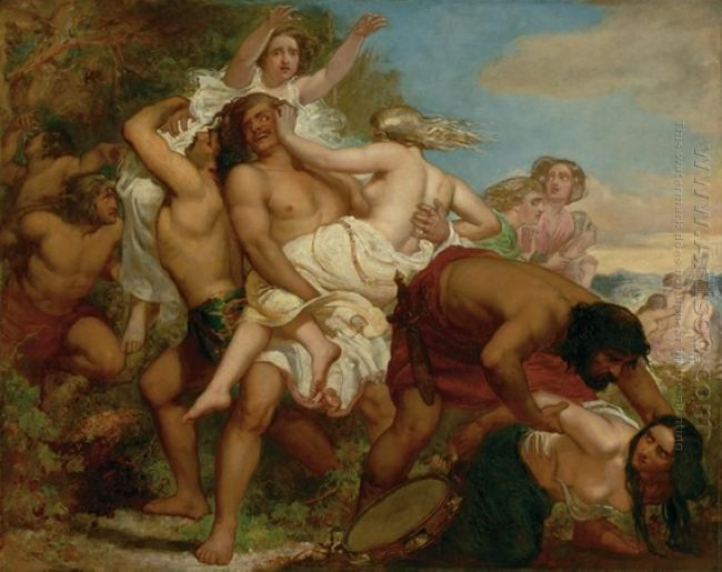 The Tribe Of Benjamin Seizing The Daughter Of Shiloh