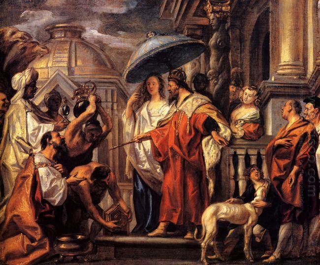 The Tribute The Caliph Harun Al Rashid To Charlemagne 1663