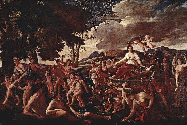 The Triumph Of Flora 1629