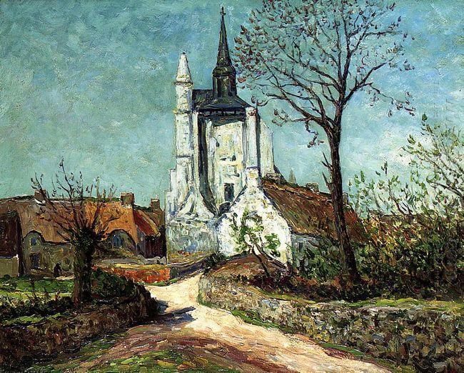 The Village And Chapel Of Sainte Avoye Morbihan 1908