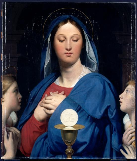 The Virgin Of The Host 1866