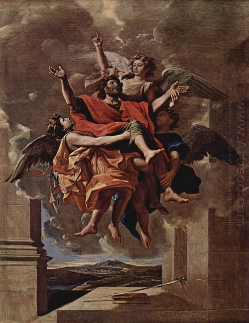 The Vision Of St Paul 1650