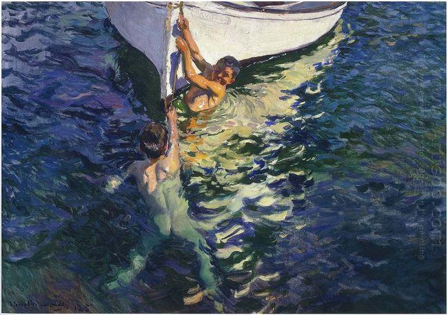 The White Boat Javea 1905