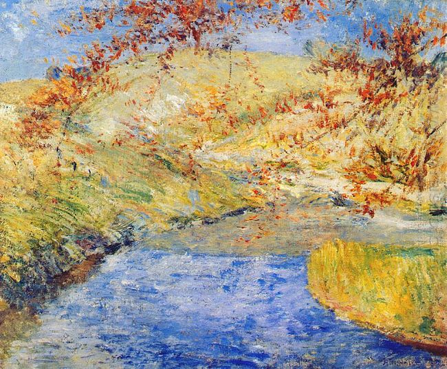 The Winding Brook 1890