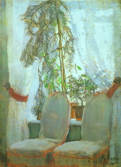 The Window Moscow Artist S Parents Appartment 1905