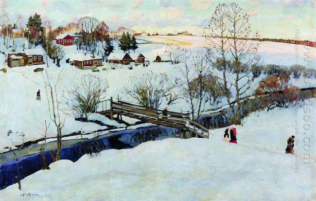 The Winter Little Bridge 1914