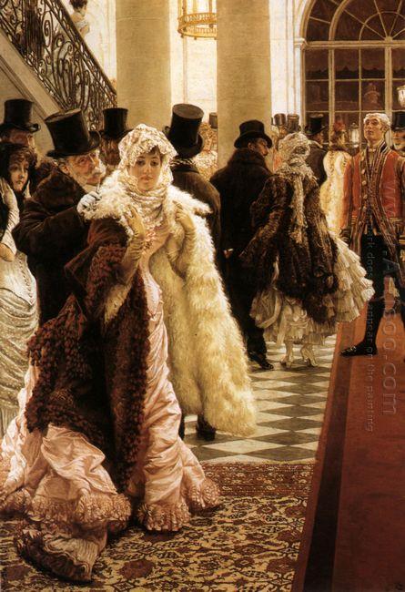 The Woman Of Fashion La Mondaine 1885