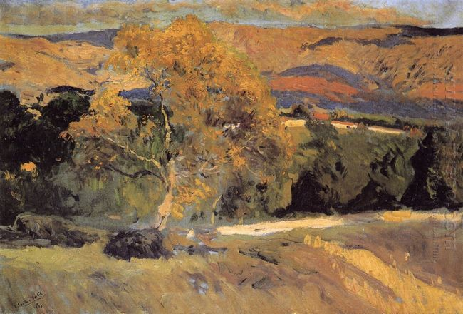 The Yellow Tree La Granja 1906