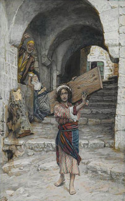 The Youth Of Jesus Illustration For The Life Of Christ