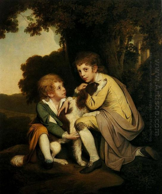Thomas And Joseph Pickford As Children 1779