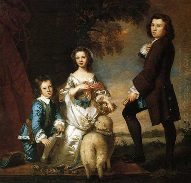 Thomas And Martha Neate With Tutor