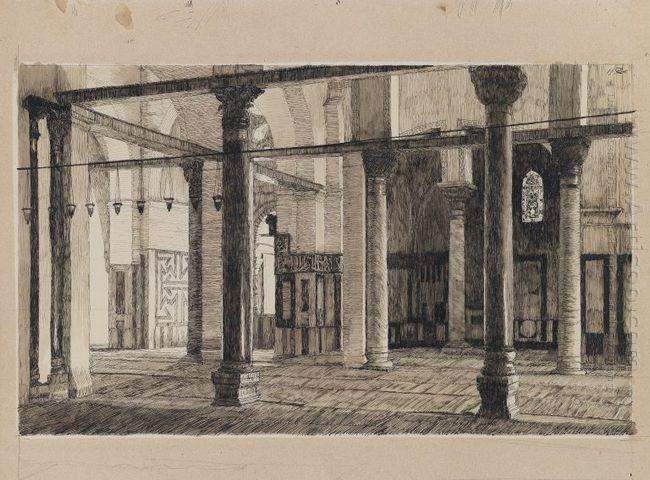 Transept Of The Mosque Of El Aksa 1889
