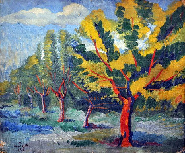 Trees 1918