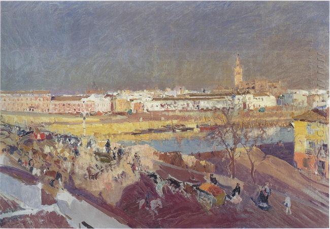Triana Bridge Seville 1908