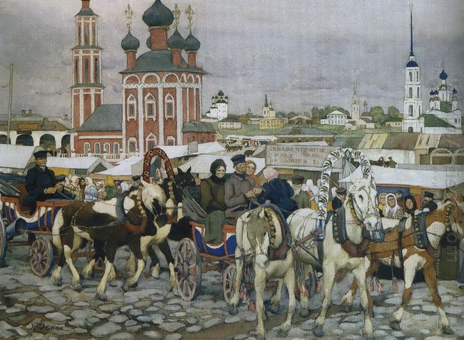 Triple In Uglich 1913