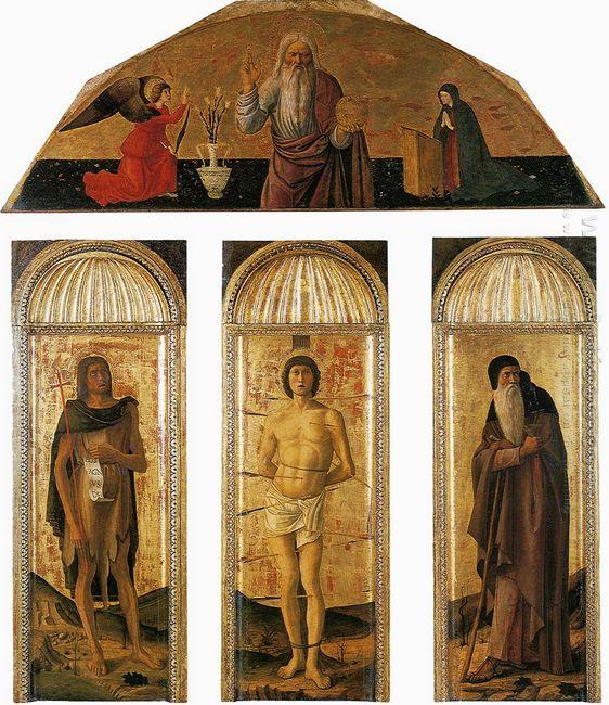 Triptych Of St Sebastian 1464