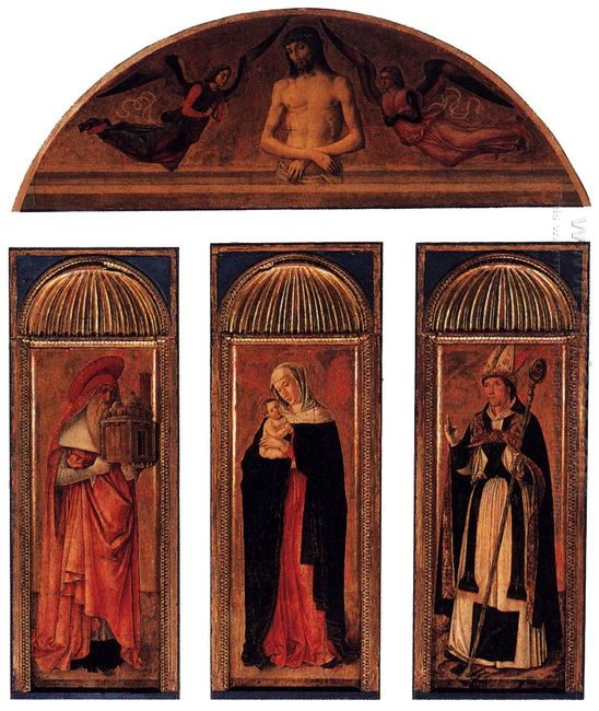 Triptych Of The Virgin 1470