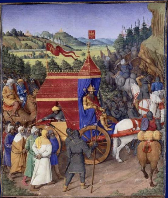 Triumph Of Jehoshaphat Over Adad Of Assyria 1475