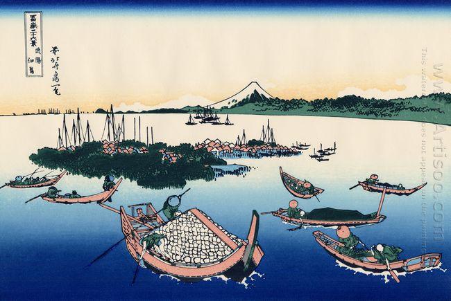 Tsukada Island In The Musashi Province