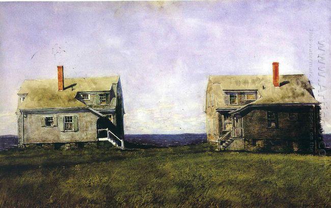 Twin Houses 1969