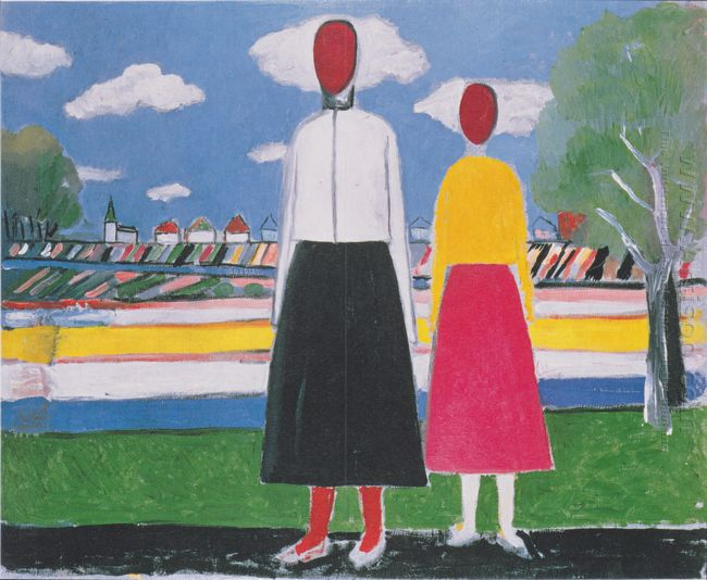 Two Figures In A Landscape 1932
