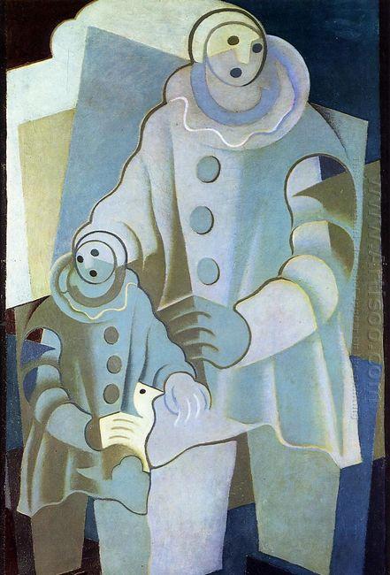 Two Pierrots 1922