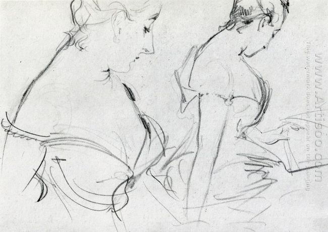 Two Studies For Madame X