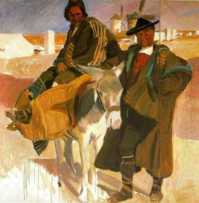 Types Of La Mancha 1912