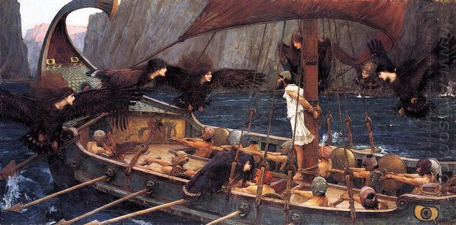 Ulysses And The Sirens 1891