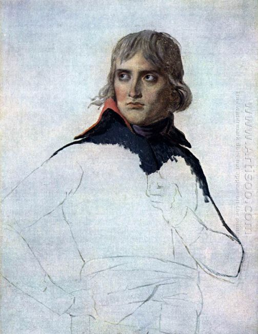 Unfinished Portrait Of General Bonaparte 1798
