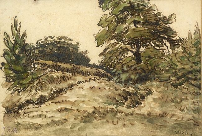 Upward Path Near Vichy 1867