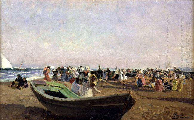 Valencia Beach Fisherwomen 1919