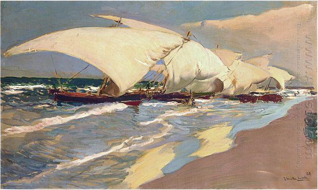 Valencian Boats 1908